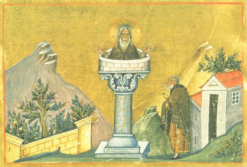 Sfantul Daniel Stalpnicul