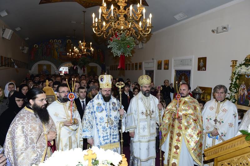 Biserica ortodoxa romana Sfantul Nicolae din New York la ceas aniversar