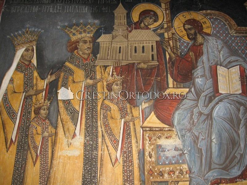 Domnitori daruind lui Hristos