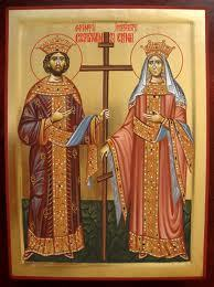 Sfintii Imparati Constantin si Elena, in traditia poporului Roman