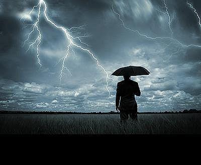 Teama de tunete si fulgere