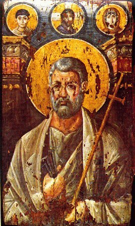 Icoana Sfantul Petru - Sinai