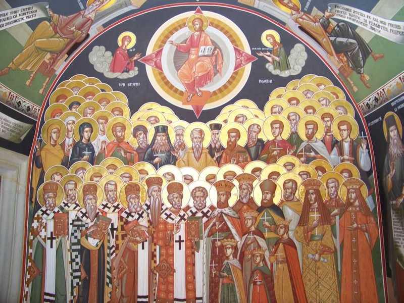 Sfinti nascuti in Romania