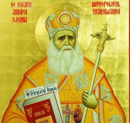Slujba Sfantului Andrei Saguna