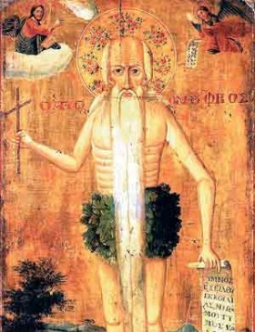 Acatistul Sfantului Onufrie cel Mare
