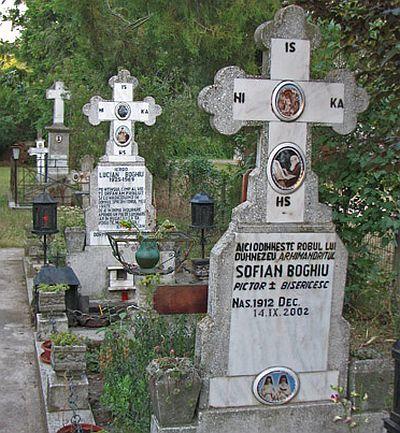 Mormantul Parintelui Sofian Boghiu