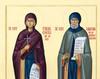 Pruncii Simeon si Parascheva. Cu Maica lor
