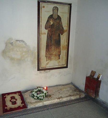 Mormantul Sfantului Cosma Etolianul