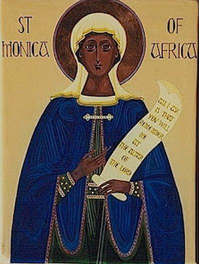 Sfanta Monica, ocrotitoarea sotiilor necajite