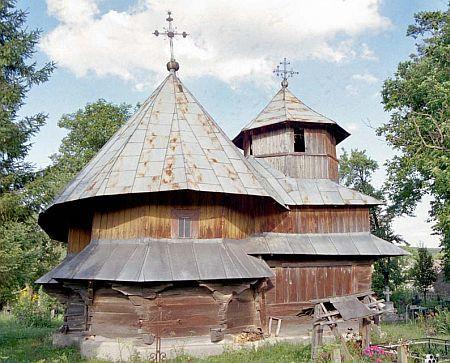 Biserica unica din Corjauti