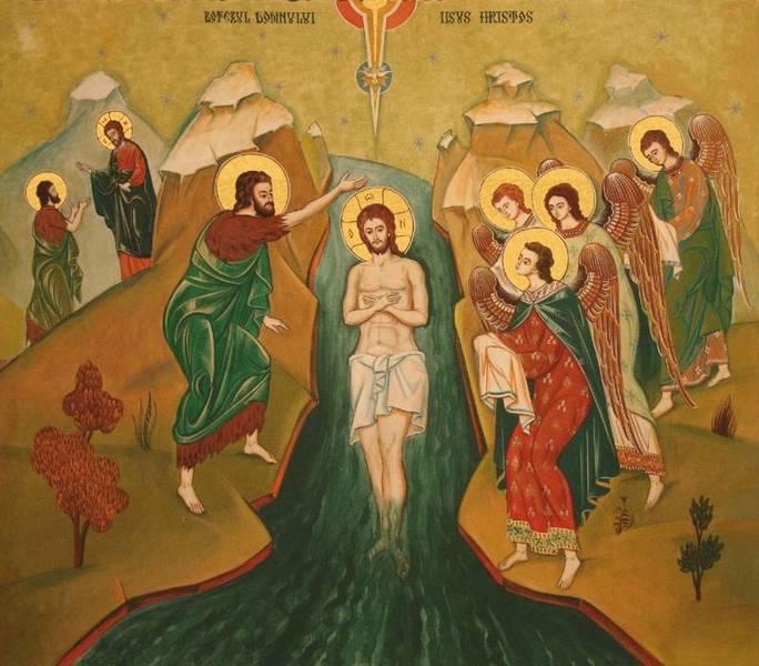 Ganduri de intampinare a Dumnezeiestii Aratari la Iordan