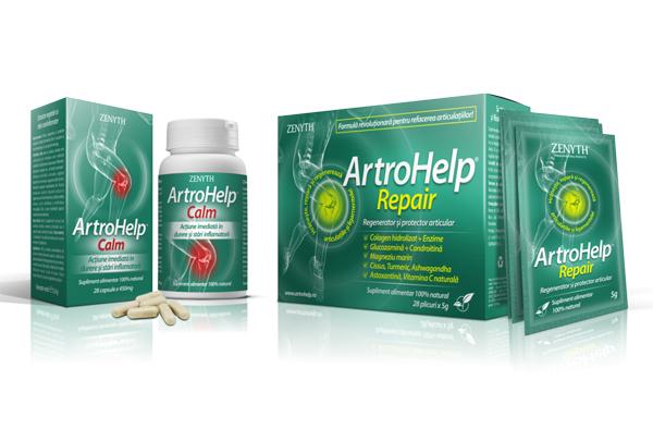 ArtroHelp, cea mai complexa formula pentru articulatii!