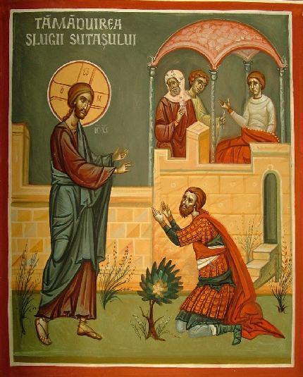 Vindecarea slugii sutasului - Duminica a patra dupa Rusalii