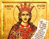 Sfantul Voievod Stefan cel Mare - aparator si...