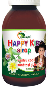 Cresterea imunitatii cu Happy Kid sirop