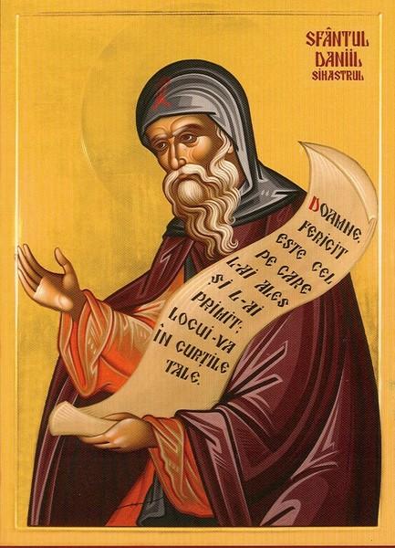 Testamentul Sfantului Daniil Sihastrul