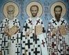 Sfintii Trei Ierarhi: Vasile cel Mare, Grigorie Teologul si Ioan Gura de Aur
