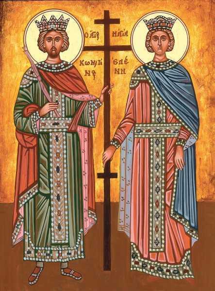 Canon de rugaciune catre Sfintii Apostoli Constantin si Elena