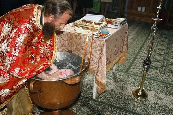 Prezentarea simbolurilor botezului