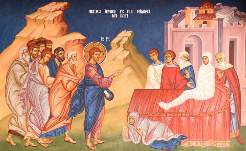 Invierea fiului vaduvei din Nain: Hristos ne calauzeste catre fericire