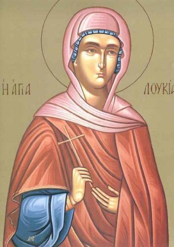 Sfanta Mucenita Lucia