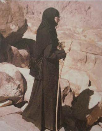 Maica Teosemni, ucenica parintelui Porfirie