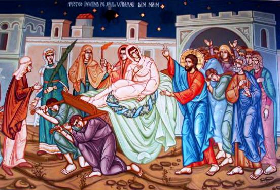 Imagini pentru Invierea fiului vaduvei din Nain