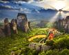 Bilete de avion ieftine pentru a vizita manastirile de la Meteora si alte lacasuri de cult in vara 2017 in Grecia
