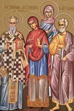 Sfintii Mucenici Zenovie Episcopul si Zenovia sora sa; Sfantul Apostol Cleopa