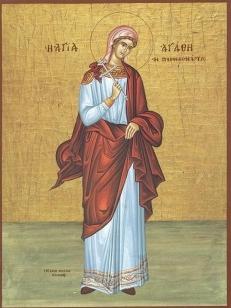 Sfintele Mucenite: Agata si Teodula