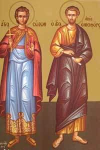 Inaintepraznuirea Nasterii Maicii Domnului; Sfantul Mucenic Sozont