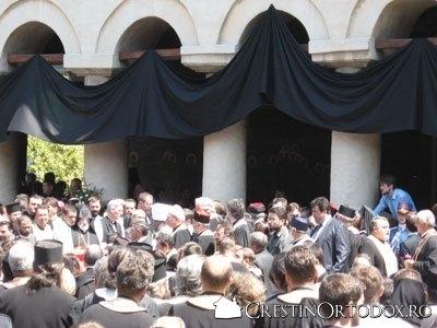 Slijba de inmormantare a Patriarhului Teoctist