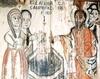 Biserica de lemn din Baita - Hristos si femeia samarineanca la fantana