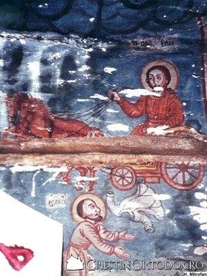 Biserica de lemn din Bulgari - Sfantul Prooroc Ilie