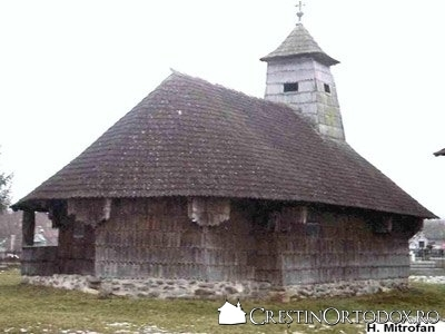 Biserica de lemn din Cuci - Sfintii Arhangheli (sec XIX)