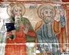 Biserica de lemn Sfantul Ilie din Cupseni - Apostolii Matei si Petru
