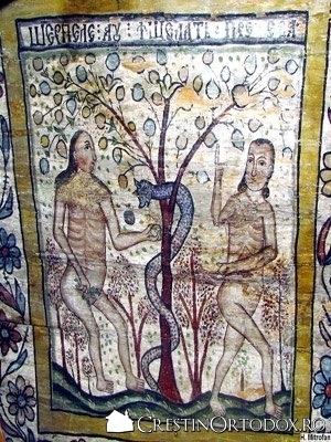 Biserica de lemn din Rogoz - Pacatul originar