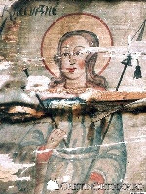 Biserica de lemn din Salisca - Sfantul Clavdie
