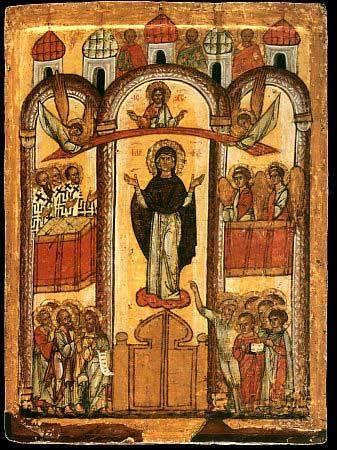 Acatistul Acoperamantului Maicii Domnului