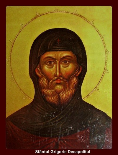 Acatistul Sfantului Grigorie Decapolitul