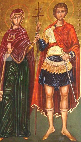 Acatistul Sfintilor Adrian si Natalia