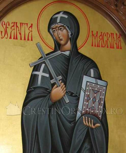 Acatistul Sfintei Macrina