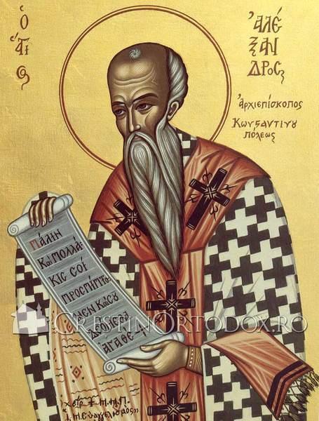 Acatistul Sfantului Alexandru