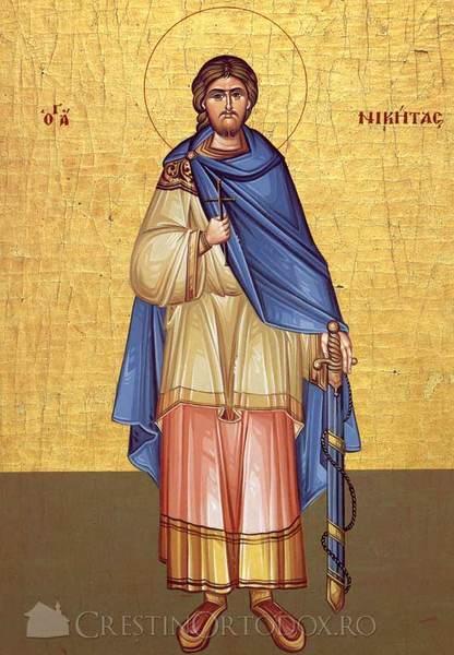 Acatistul Sfantului Nichita  Gotul