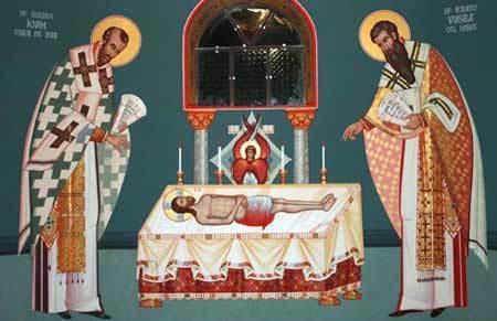 Prefacerea darurilor in Trupul si Sangele lui Hristos