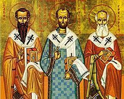 Sfintii Trei Ierarhi, interpreti ai Sfintei Scripturi