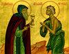 Sfanta Maria Egipteanca - icoana liturgica a caintei