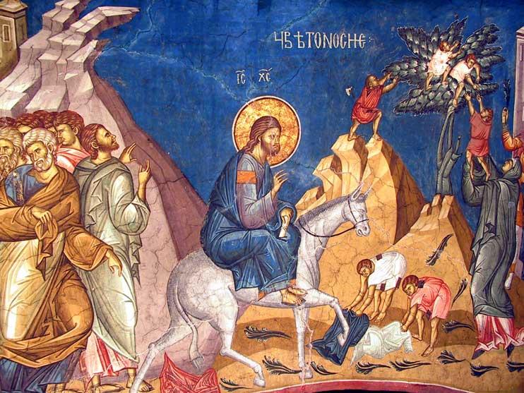 Duminica Floriilor - Sfantul Grigorie Palama