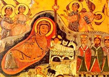 Nasterea Fiului lui Dumnezeu ca om, din Sfanta Fecioara