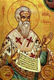 Sfantul Ignatie, nu Ignatul porcilor